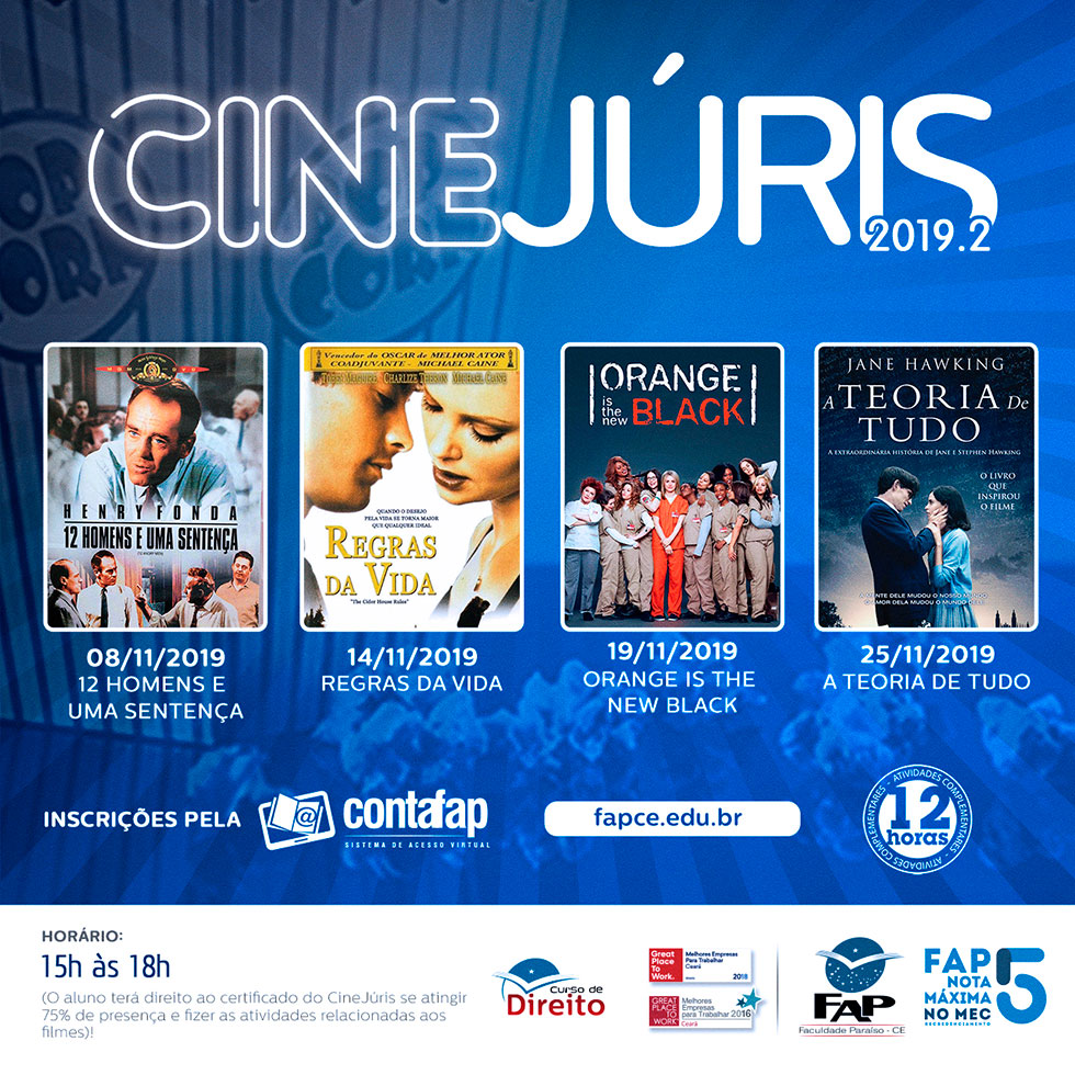 CineJúris 2019.2 (NOV/2019)